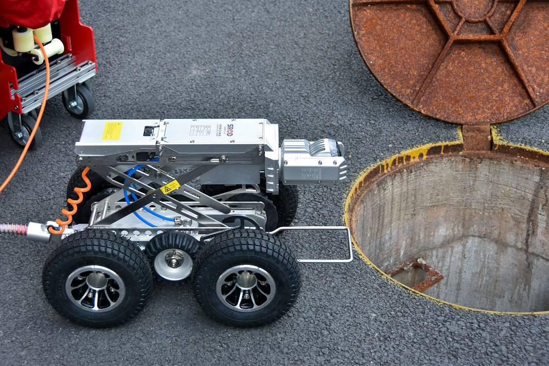 高清管道检测机器人SINGA300E