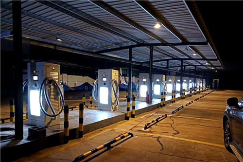 河南汽車充電樁施工案例