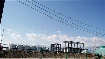 污泥干燥设备安装案例:山东济宁凯赛生物