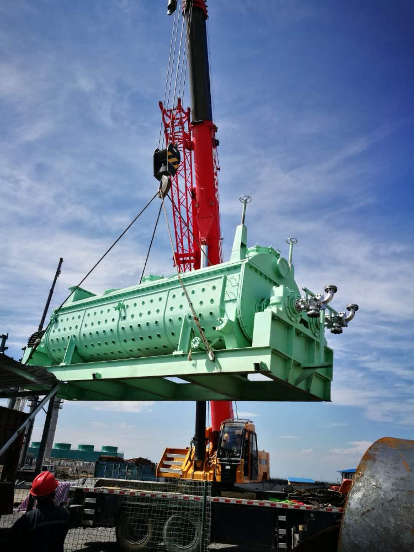 三门峡空心桨叶干燥机安装