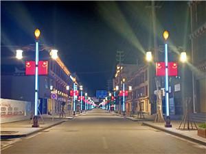 藏式文化定制路灯
