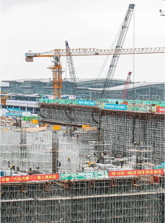杭州机场三期工程有新进展
