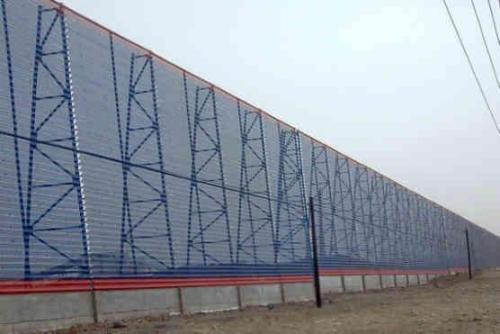 防风抑尘网材料选择应注意的几个问题