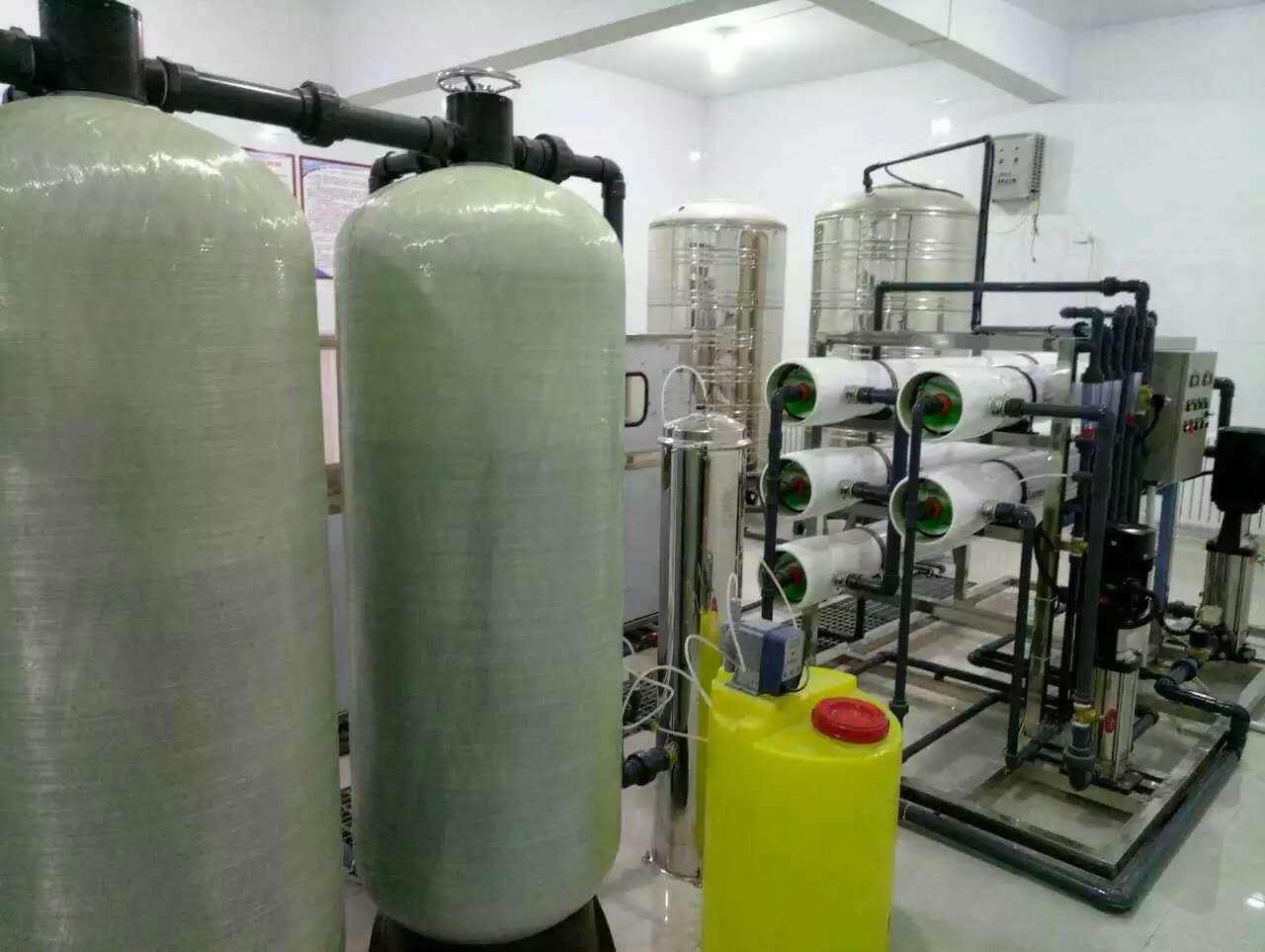 陕西纯净水处理设备安装案例