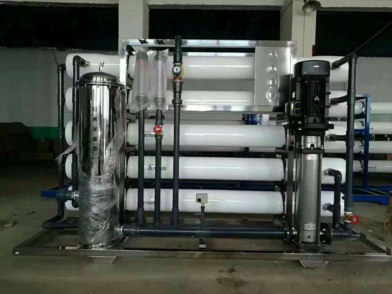 纯净水处理设备安装