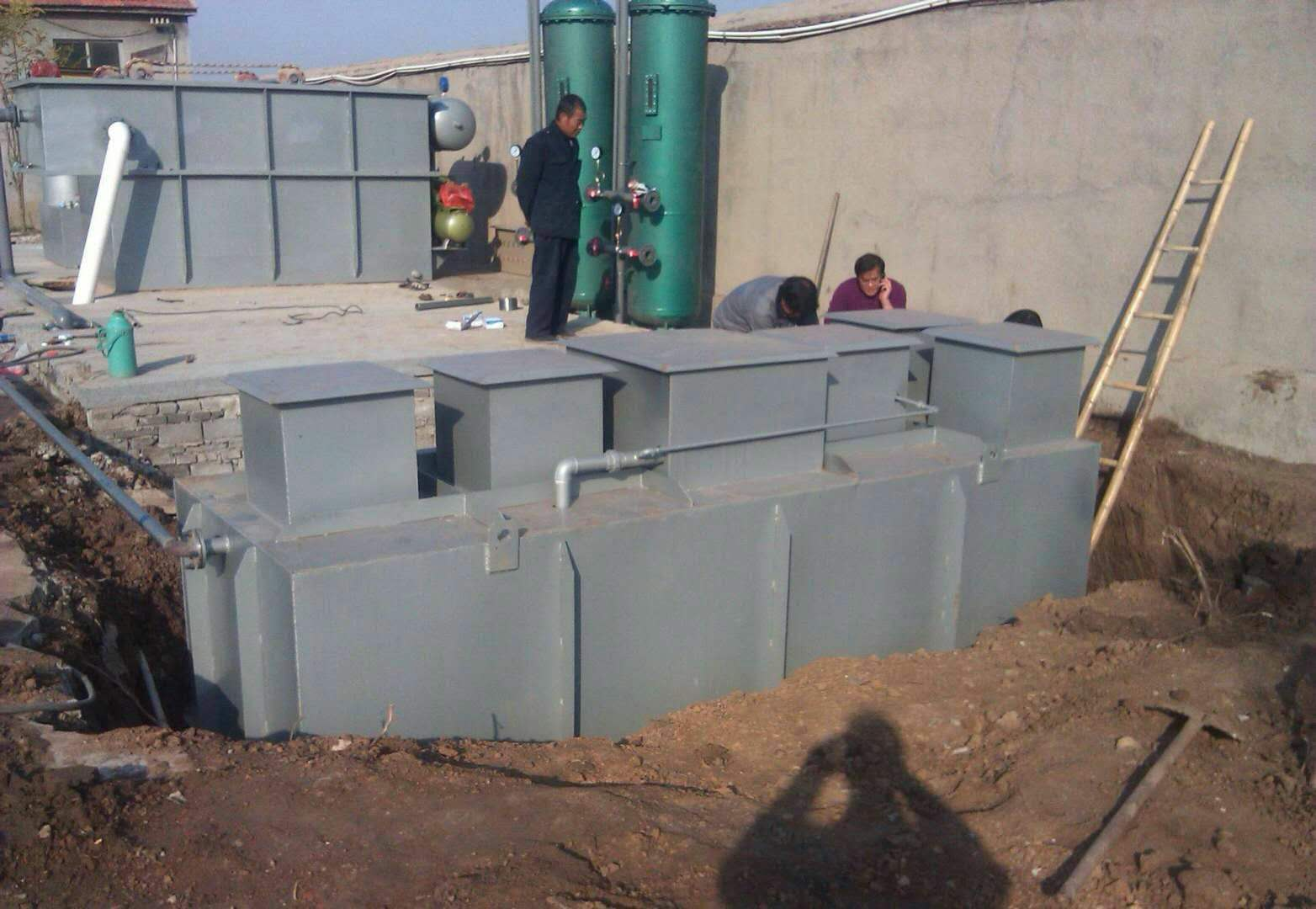 卓清水处理污水处理设备安装案例