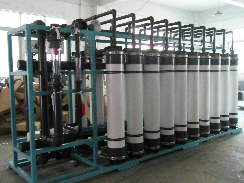 陕西矿泉水处理设备安装案例