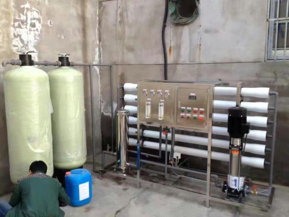 陕西纯净水处理设备安装