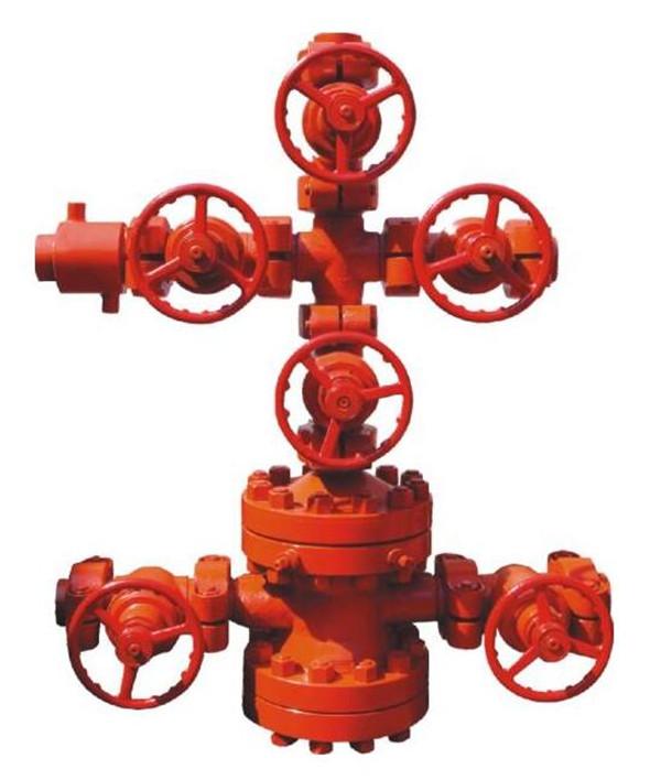 注水井口装置在庆科石油公司使用