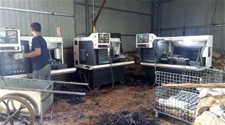 恒晟石油机械设备制造公司师傅正在施工制造中!
