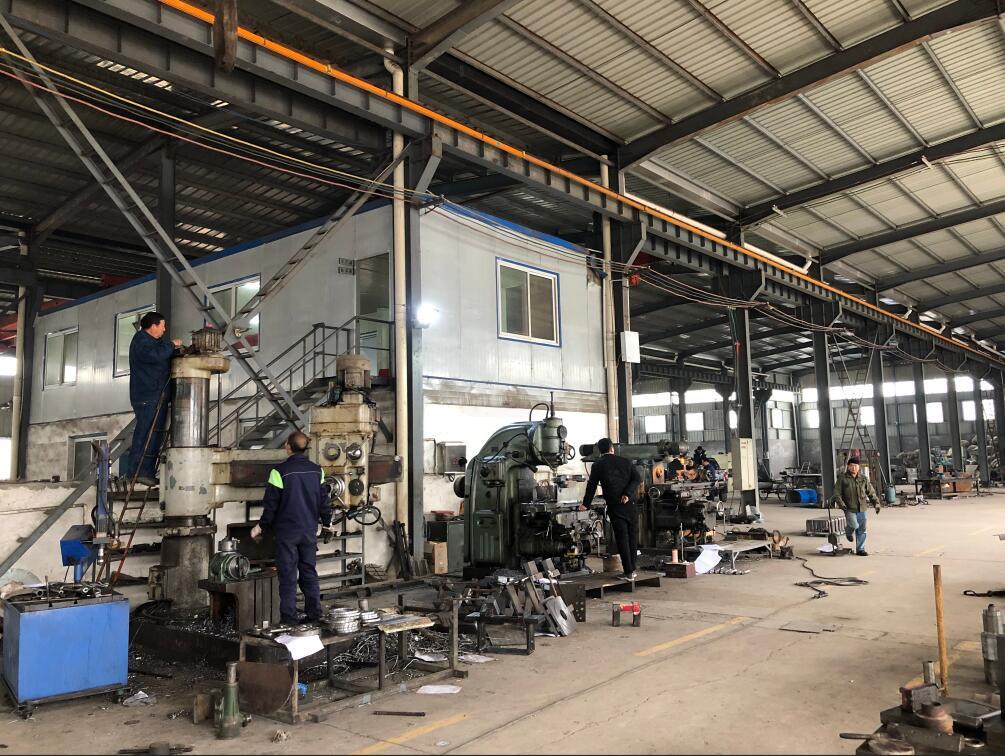 锻造钢球生产厂房