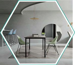 现代简约桌椅