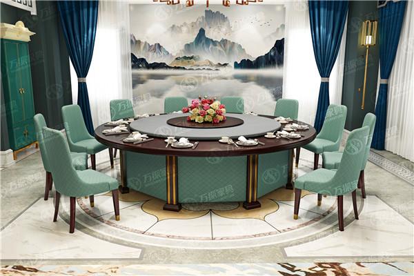 西安电动大餐桌:中国结