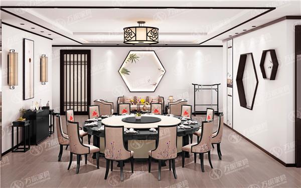 陕西酒店餐桌椅定制