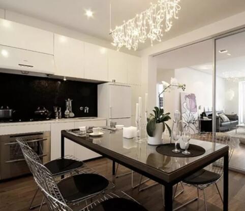 现代简约餐桌椅组合家具欣赏