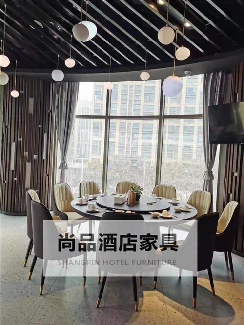 陕西大酒店中餐厅餐桌