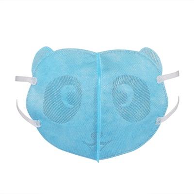 儿童立蓝色体口罩