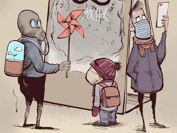 哈雷与您分享戴口罩可以帮助减少与污染空气的接触