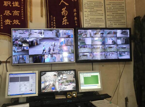 成都市第七人民医院监控改造