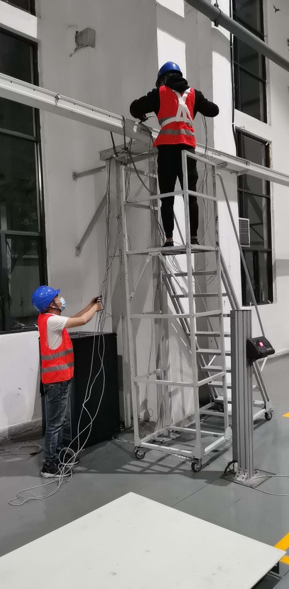 四川某集团公司车间内高清视频监控覆盖、无线网络覆盖