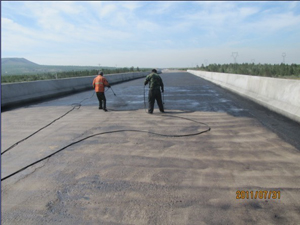桥面防水处理