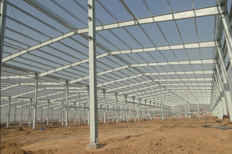 咸阳鑫科塑业钢结构厂房工程