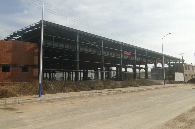 宝来物资钢结构厂房工程