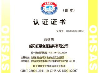 认证证书2