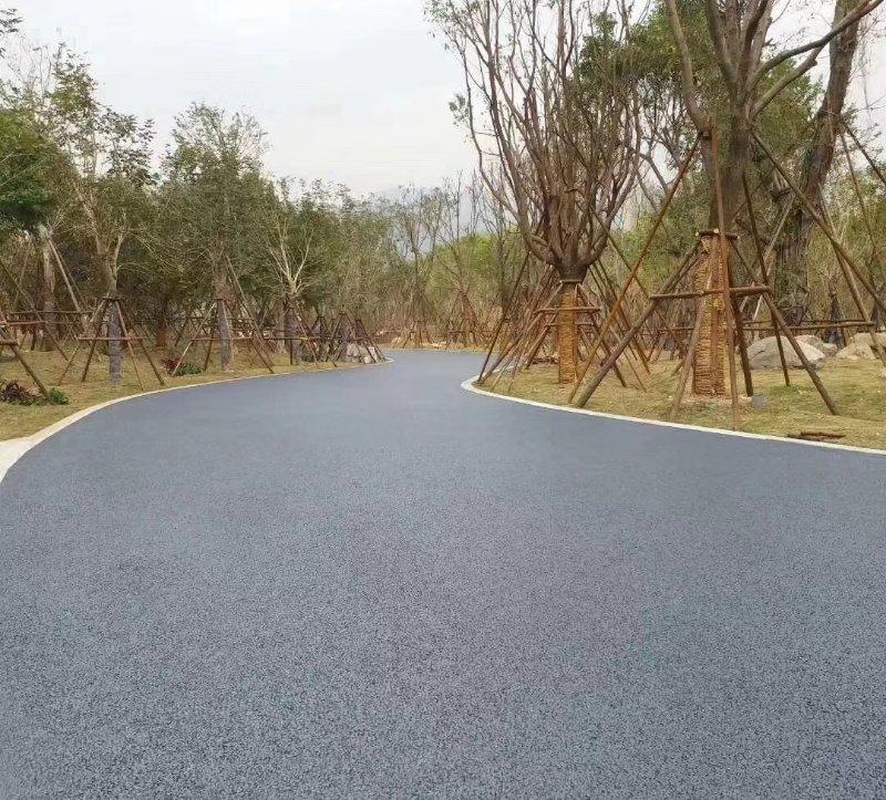 澳卡斯顿透水地坪  公园小区彩色透水地坪