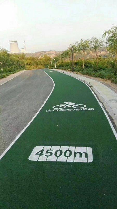 将水泥路面转换成彩色路面,主要是因为它好处多多