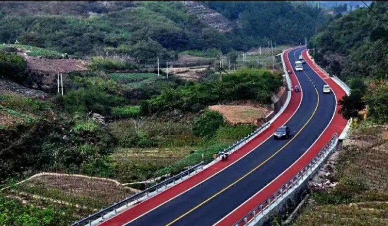 彩色路面施工