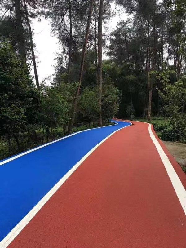 湖北彩色路面施工