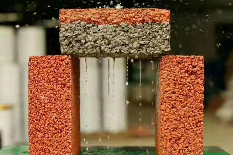透水混凝泥土