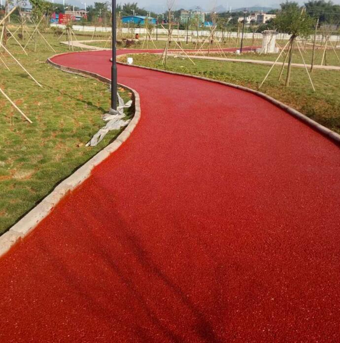 彩色沥青混凝路面土施工厂家