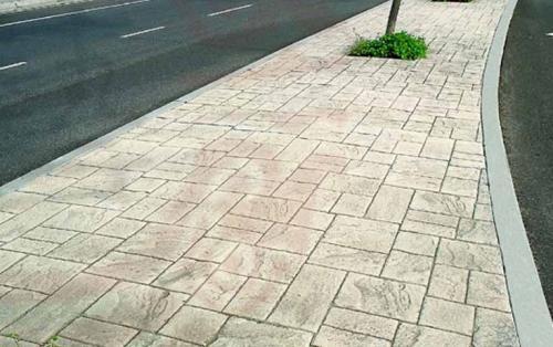 压印地面材料地坪