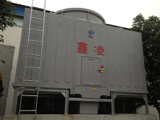 四川冷却塔安装——华天玻璃纤维有限公司