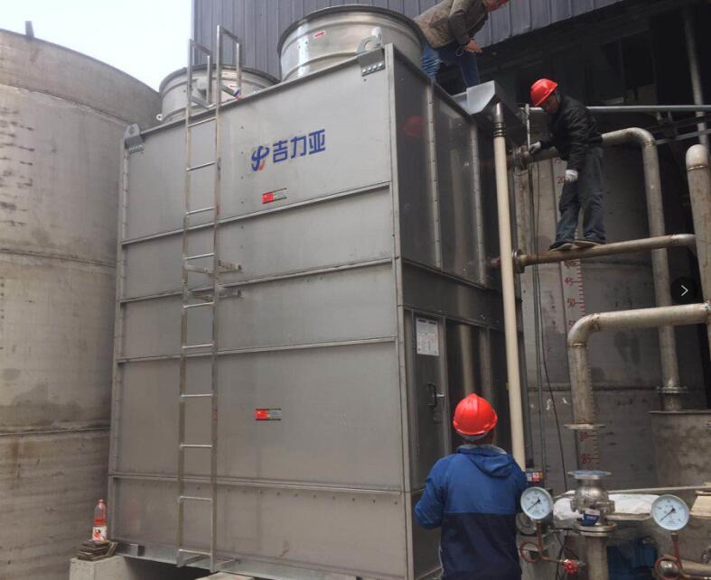 四川闭式冷却塔水垢增多应该如何清除呢?