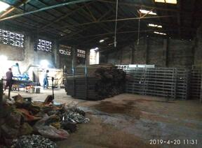 石榴hd视频成都铝架生产车间