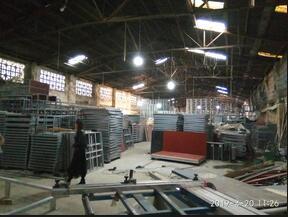 石榴hd视频成都网架生产车间
