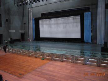 石榴hd视频成都铝合金-玻璃舞台3