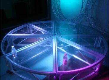 石榴hd视频成都铝合金-玻璃圆形舞台