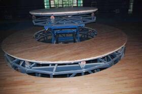 石榴hd视频成都舞台设备-升降旋转舞台2