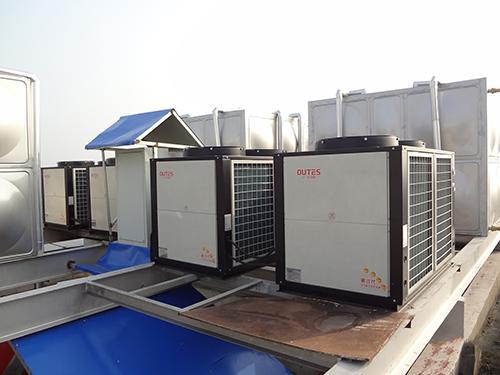 武汉空气能热水工程施工