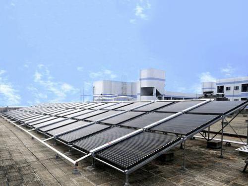 汉阳消防队太阳能+空气能热水工程