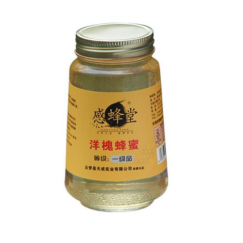 几种不同包装的洋槐蜂蜜