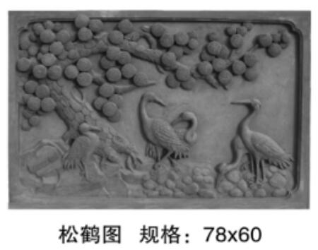 砖雕不仅可以用在庭院、公园等,还可以应用在茶室装饰!