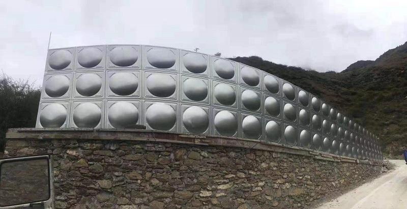 四川不锈钢保温水箱案例