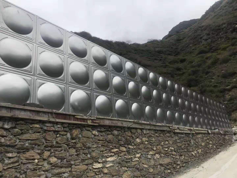 川二次供水设备案例