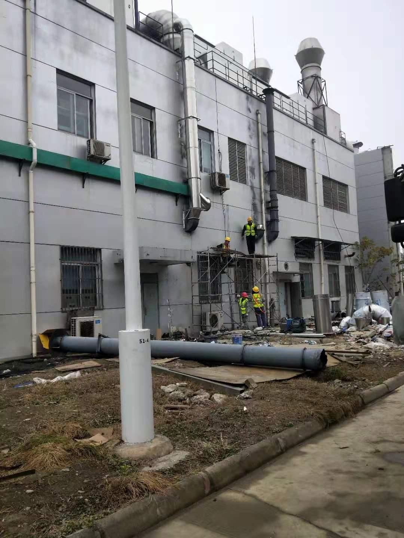 四川不锈钢烟囱安装中