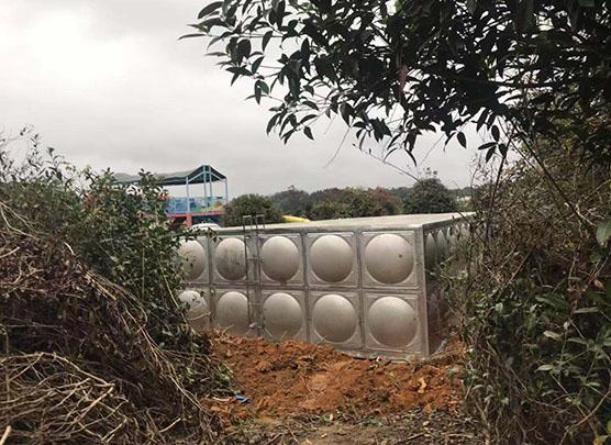 健川环保水箱施工工程